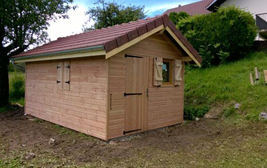 super populaire 53a8c 73838 Entreprise de création et montage d'abris de jardin dans le ...